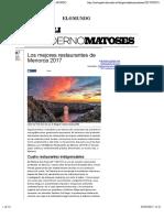 Los mejores restaurantes de Menorca 2017 | EL MUNDO