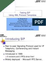 Testing Sip Testcomm 2003 Slides