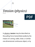Tension (Physics) - Wikipedia
