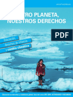 UNICEF Educación, Derechos de Infancia y Cambio Climático