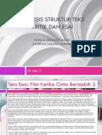 Analisis Struktur Teks Kritik Dan Esai (1) (1)