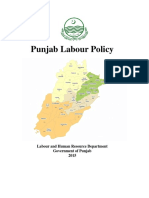 Punjab Labour Policy Final, 2015
