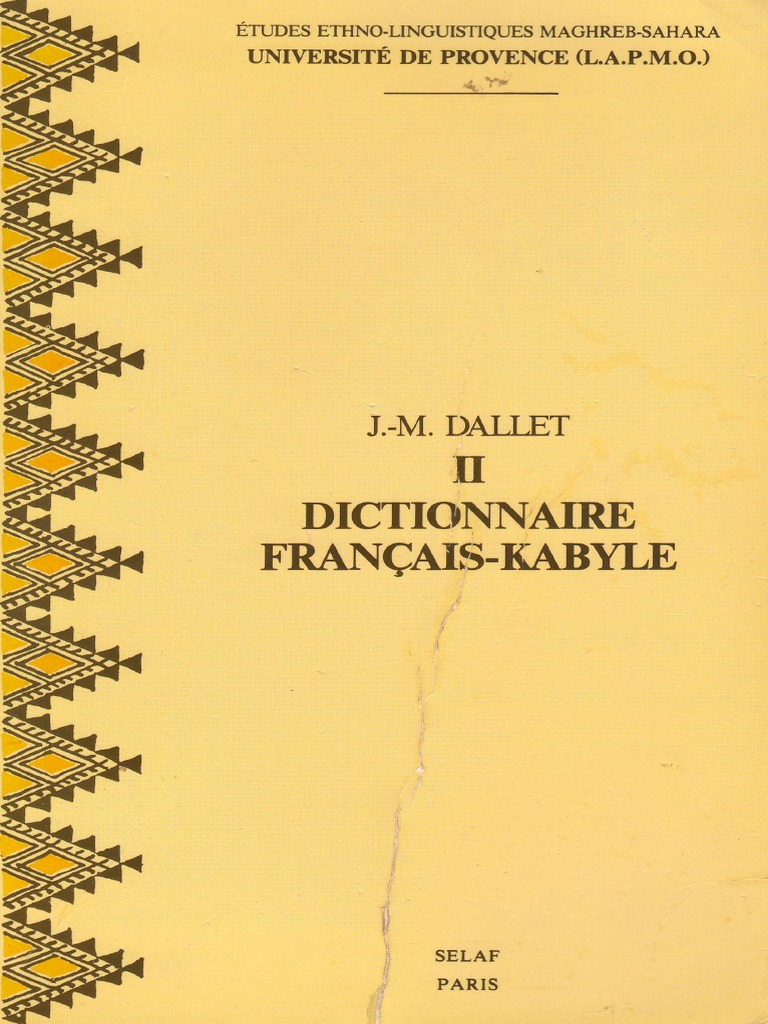 Dictionnaire Francais - Kabyle de J.M.Dallet _ au format PDF_278 pages.pdf