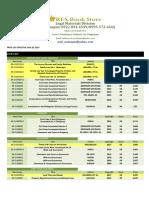 Updated Law Pricelist (Effective June 23 2017)