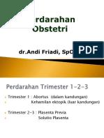 KP - 2.1.2.3 Perdarahan Obstetri