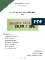 Strama Research Paper