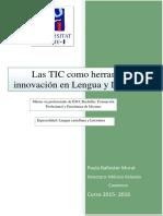 Las TIC como herramienta de innovación en Lengua y Literatura