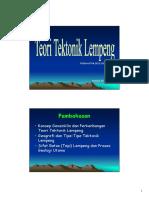 09 Teori Tektonik Lempeng.pdf