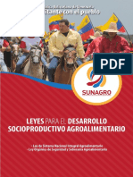 Leyes Para El Desarrollo Socioproductivo Agroalimentario[1]