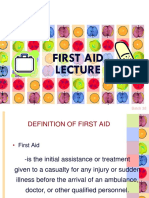 Firstaid Lecture