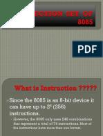 2 Instruction Set of 8085