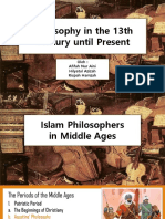 Philosophy in 13th Century Until Present 2