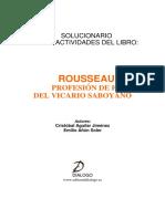 Solucionario Rousseau 2009