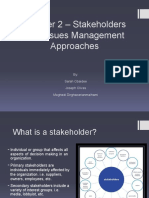 stakeholdersandissuesmanagementapproaches-111130170812-phpapp01