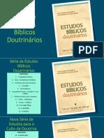 Estudos Bíblicos Doutrinários - Aula 19 - A Lei de Deus.pptx