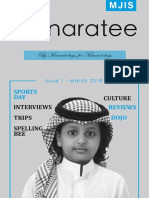 Manaratee Issue 1 March