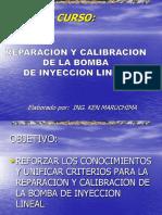 Curso Reparacion Calibracion Bomba Inyeccion Lineal