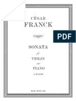 Sonata César Frank