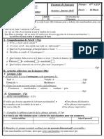 EXAMEN Francais 6