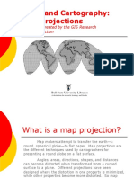 Map Projections Tutorial