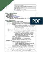 UT Dallas Syllabus for fin6357.501.10f taught by George DeCourcy (gad075000)