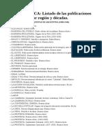 Llista publicacions