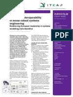 EUROSYSLIB Project Leaflet