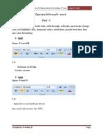 Word Lab Manual