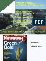 Paper on Jatropha Curcas From Mittelbach
