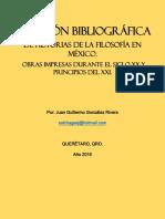 Bibliografías Historia de la Filosofía en México.pdf
