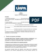 Tarea I Modificada - Español II