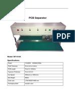 mt-810a pcb separator