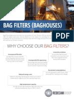 Redecam Bag Filters