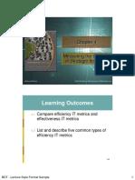 Ch 4. Measuring the Success of Strategic Initiatives