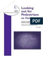 Looking Out for Pedestrians