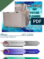 mt-2200 smt fixture cleaning machine