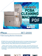 mt-2600 - pcba cleaning machine