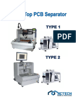mt-3000 table-top pcb separator
