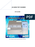 mt-sa-2500 steam aging test chamber