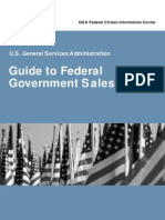 GSA Guide to Federal Government Sales