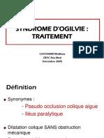 Syndrome Ogilvie