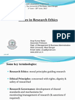 Issues in Research Ethics