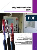 Cables Para Instrument Ac i on y Control