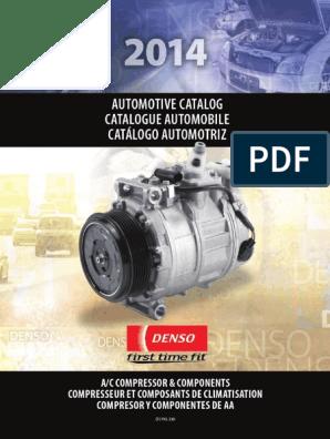 A//C Compressor and Clutch Denso 471-1010 for Toyota Sienna V6 2004-2007