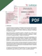 Matriz Exame Matematica A 635 2007