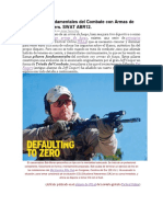 Los Pilares Fundamentales Del Combate Con Armas de Fuego