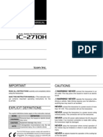 Icom IC-2710H Instruction Manual