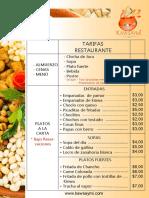 Restaurante Precios