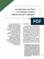 Relaciones Del Perú y Los EEUU
