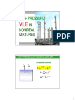 VLE in Nonideal Mixtures